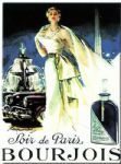 LARGE Chic French Bourjois Paris Perfume Metal Sign NEW